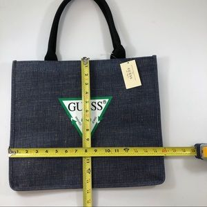 Guess Bags - NWT Guess Tote Bag Blue Jean Material style
